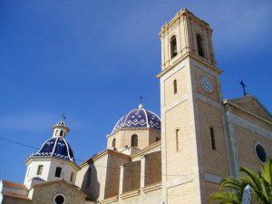 altea.me Bildergalerie Altea Foto Bild Marina Baixa Costa Blanca Kirche Altstadt