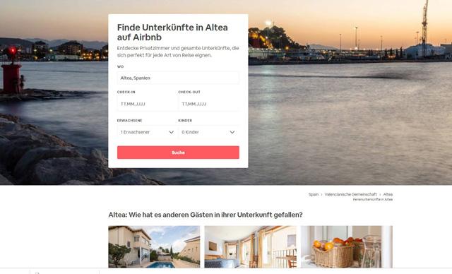 airbnb.de Ferienunterkünfte