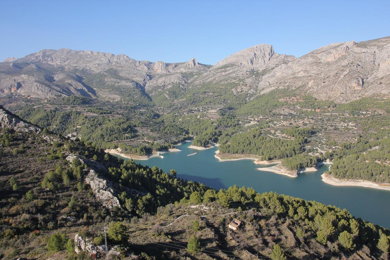 altea.me FotoGalerie-Sehenswürdigkeiten Marina Baixa - Stausee bei Callosa d'en Sarria 6