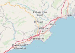 altea.me Karte Marina Baja OpenStreetMap