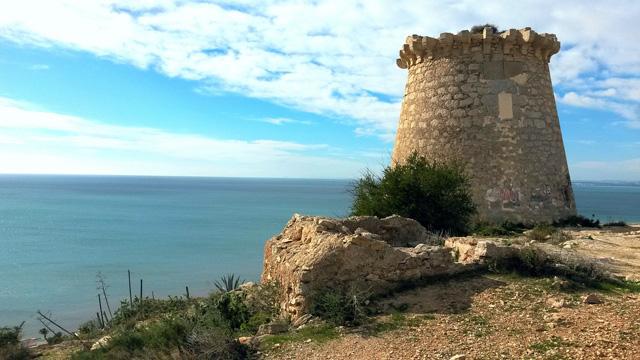 Strände Playas Beaches Landkreis Bajo Vinalopo Elche Santa Pola