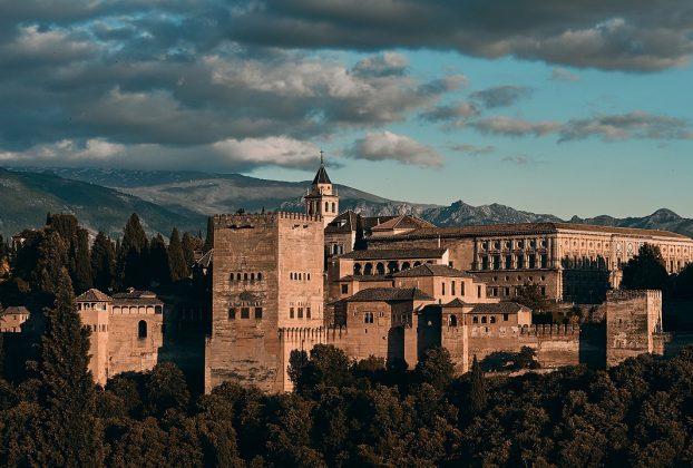 Fotogalerie Granada Alhambra Burg  Ansichten Perspektiven