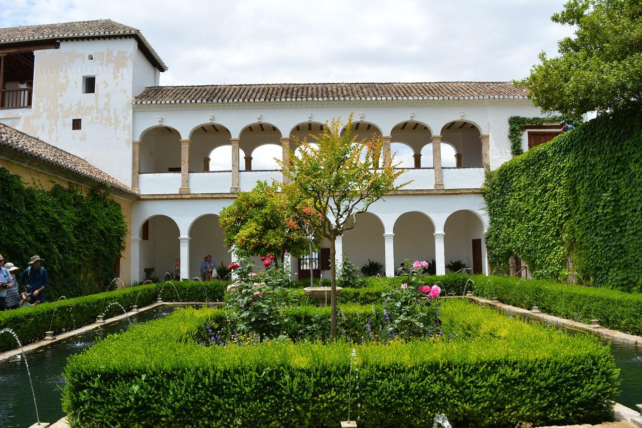Alhambra Generalife Gärten 02