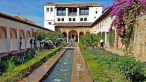 Alhambra Generalife Gärten 04
