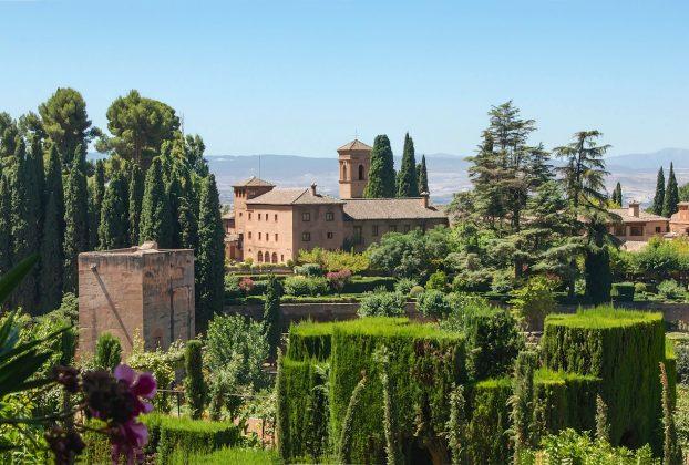 Alhambra & Generalife Garten Fotos - Garden photos - Fotes de jardin - Granada Fotogalerie 5
