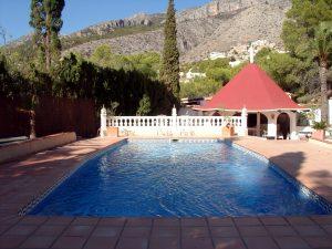 Pool Costa Blanca Ferienhaus Urlaub mit Hund