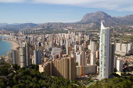 Costa Blanca Urlaub Benidorm Hotel Beispiel